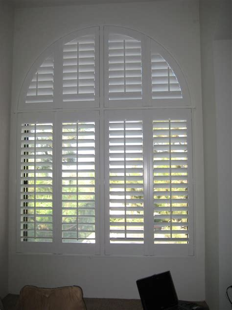 wood blinds arched windows window treatments design ideas