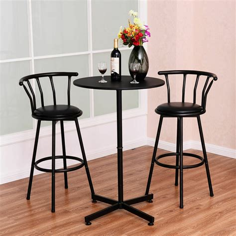 kitchen bistro table set 3 bar table set with 2 stools bistro pub kitchen