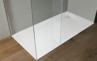 Drain Shower 00xl shower tray in corian by antonio lupi ambient