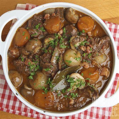 cuisine bourguignonne boeuf bourguignon mijoteuse recettes du québec