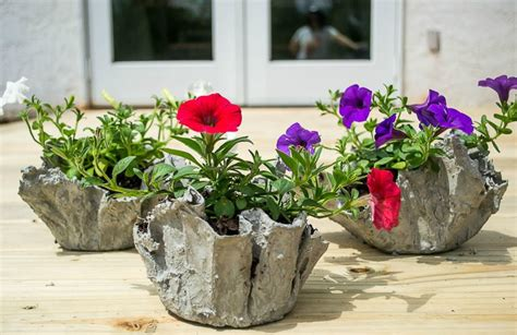 cement cloth planter   time page