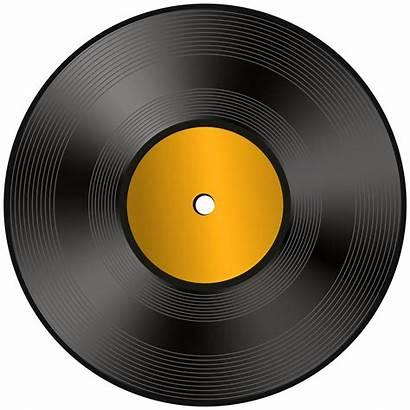 Record Vinyl Clip Clipart Drawing Cassette Transparent
