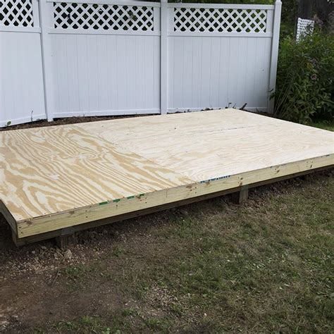 floating floor lowes how to level and install a shed foundation