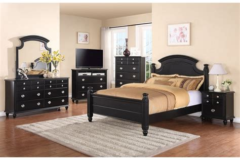 black bedroom set black stained oak wood size bed frame with curved