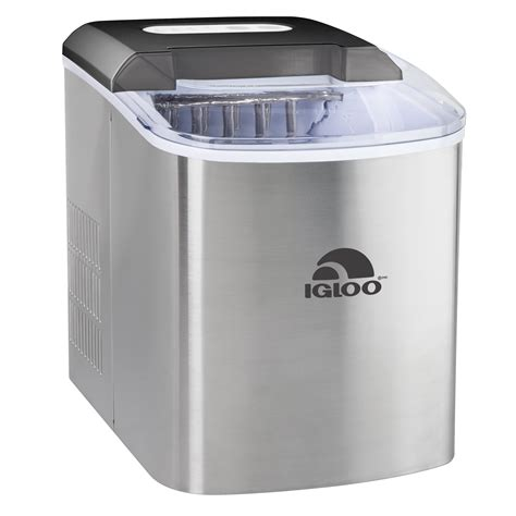 Igloo Countertop Maker - igloo 26 lb countertop maker iceb26ss stainless