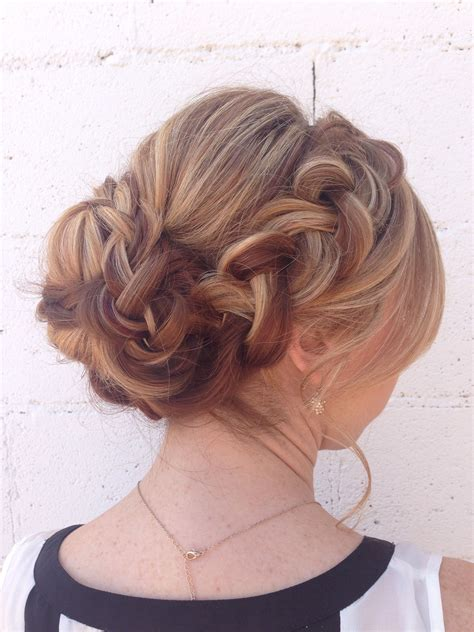 soft braided updo  long thick hair hair hair
