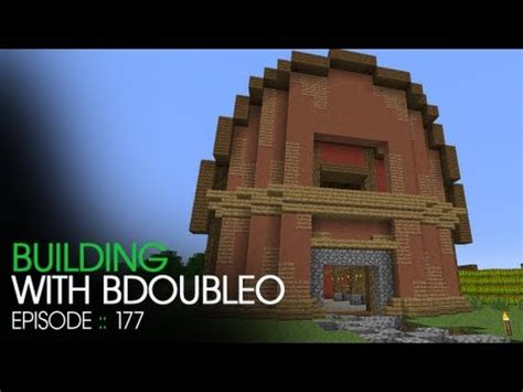 minecraft building  bdoubleo episode  barn revamp youtube