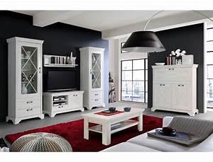 Wohnzimmer Landhausstil Weiß : wohnzimmer kasimir 34 pinie wei 6 teilig led beleuchtung ~ Frokenaadalensverden.com Haus und Dekorationen