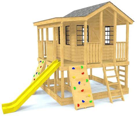 randys ranch playhouse plan   backyard