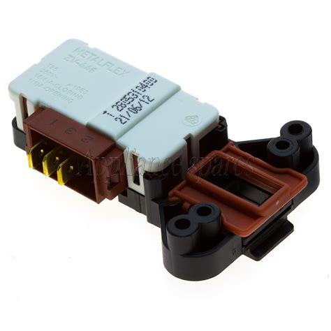 defy front loader washing machine door interlock switch