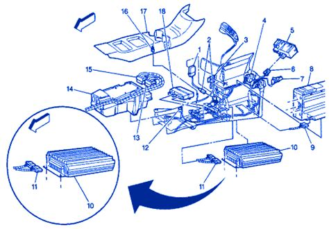 Gmc Denali Console Electrical Circuit Wiring Diagram