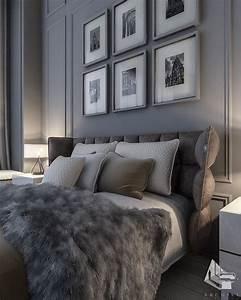 master, bedroom, , kuwait, , , grey, is, always, elegant