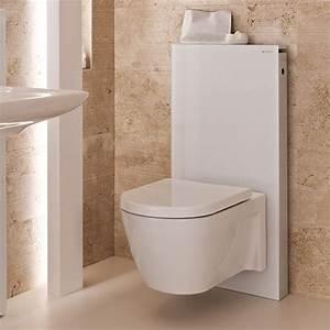 Geberit Monolith Wc : geberit monolith wc frame cistern for wall hung wc 39 s white aluminium at victorian plumbing uk ~ Frokenaadalensverden.com Haus und Dekorationen