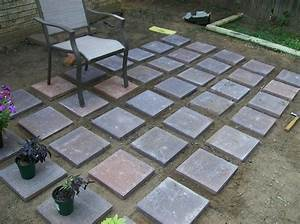 Attractive Concrete Patio Pavers Outdoor Decoration Ideas