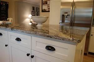 kitchen kitchen backsplash ideas black granite With what countertops go with white cabinets