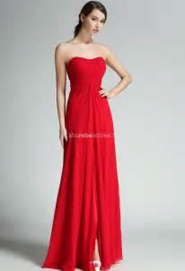 robe bustier pour mariage robe longue de cérémonie mousseline