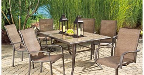 Wilson Fisher Patio Furniture Tuscany Collection by View Wilson Fisher 174 Chesapeake 7 Dining Set Deals