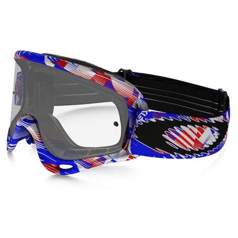 youth motocross goggles digi slash patriotic
