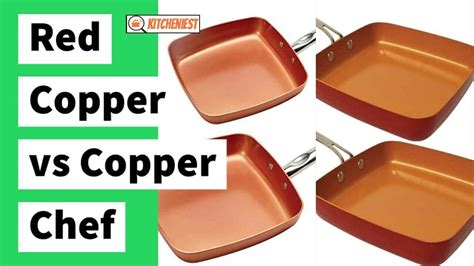 red copper  copper chef  depth comparison review