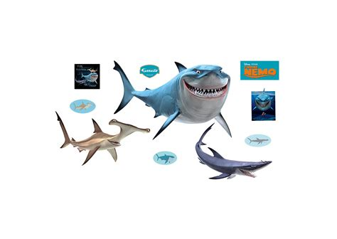 Finding Nemo Sharks Wall Decal