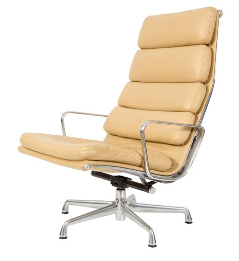 Eames Soft Pad Lounge Chair by Herman Miller Eames Ea438 Soft Pad Lounge Chair Chairish