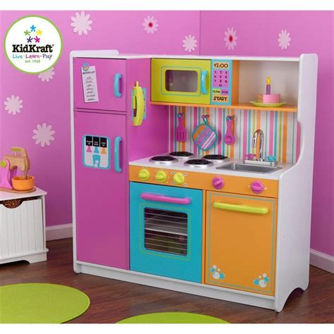 cuisine ecoiffier cuisine enfant deluxe big and bright kidkraft achat