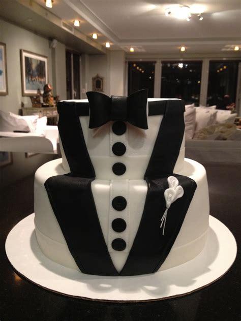 Wedding Tuxedo Cake   Vanilla Cake, Fresh Raspberries Fillin   Flickr