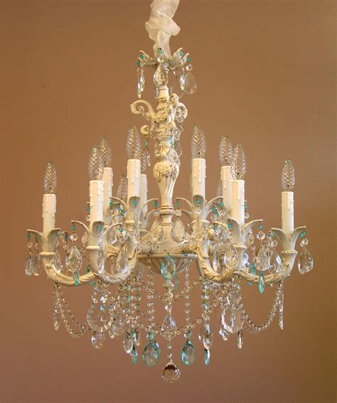 shabby chic style chandeliers