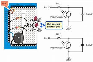 Build The Light Sensor Circuits