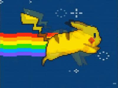 Nyan Pikachu Gifs  Find & Share On Giphy