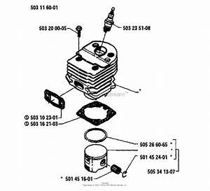 Husqvarna 50  1986 Cylinder
