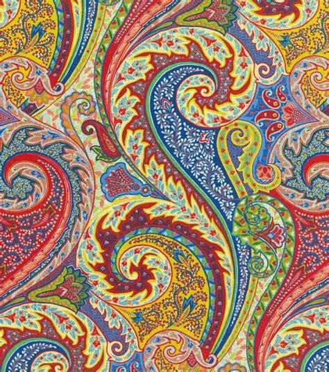 upholstery fabric williamsburg jaipur paisley jewel jo ann