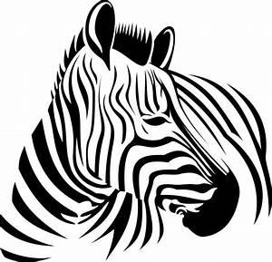 Zebra Head Graphics SVG Dxf EPS Png Cdr Ai Pdf Vector Art ...
