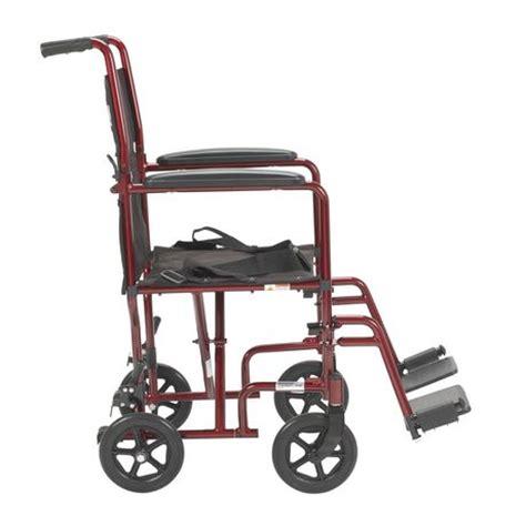 Transport Chairs Lightweight Walmart by Drive 17 Quot Lightweight Transport Wheelchair
