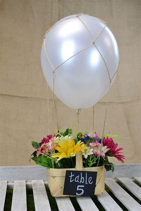 Diy Hot Air Balloon Centerpiece Love Inc Maglove Inc Mag