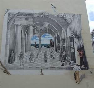 Trompe L Oeil Mur : peintures en trompe l 39 oeil page 2 ~ Dode.kayakingforconservation.com Idées de Décoration