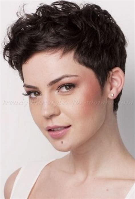 Wavy Pixie Hairstyles by Pixie Cut Pixie Haircut Cropped Pixie Pixie Cut
