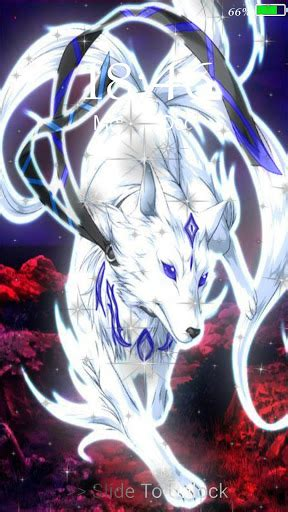 neon wolf  wallpaper lock screen latest version apk