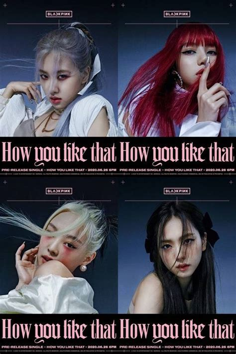 blackpink unveil     posters featuring