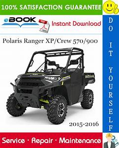 Polaris Ranger Xp  Crew 570  900 Utility Terrain Vehicle