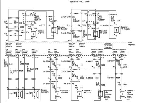 2007 Gmc Wiring Diagram Radio by What Are The Radio Wiring Colors For A 2003 Gmc Denali