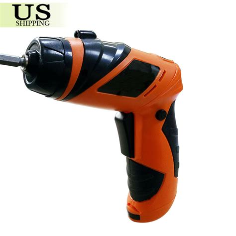screwdriver battery operated cordless power electric