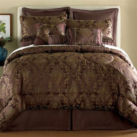 plum and brown bedroom 2013 sale chris madden alessandra plum 7 pc comforter