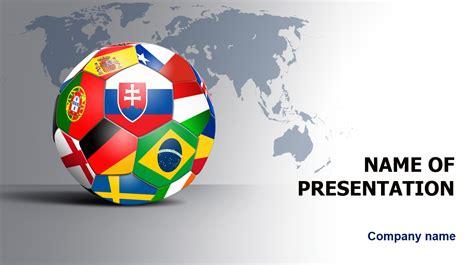 world football players powerpoint template big apple