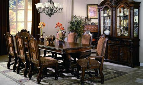 neo renaissance  piece formal dining room set  china