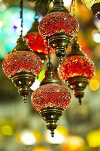 Free, Images, Flower, Glass, Decoration, Lantern, Red, Color, Macro, Autumn, Lamp, Hanging