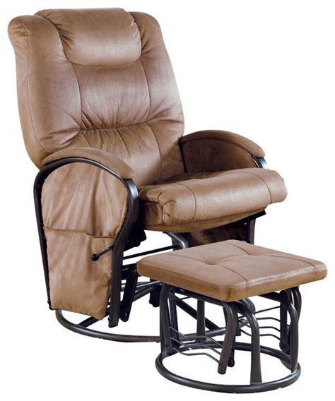 swivel rocker with ottoman monarch specialties 2 piece swivel rocker recliner chair
