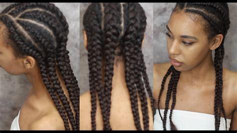 braid hair  extensions invisible cornrows