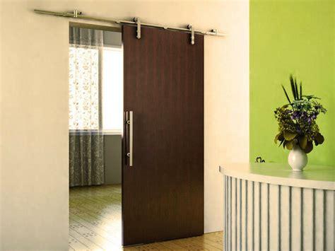 ft modern stainless steel interior sliding barn wood