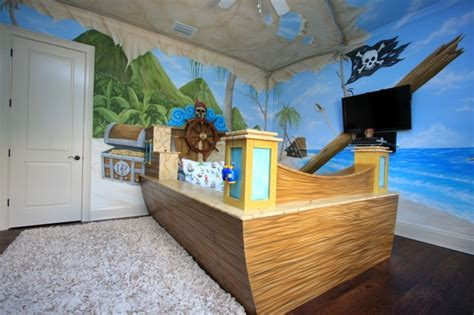 chambre garcon pirate deco chambre garcon theme pirate visuel 4